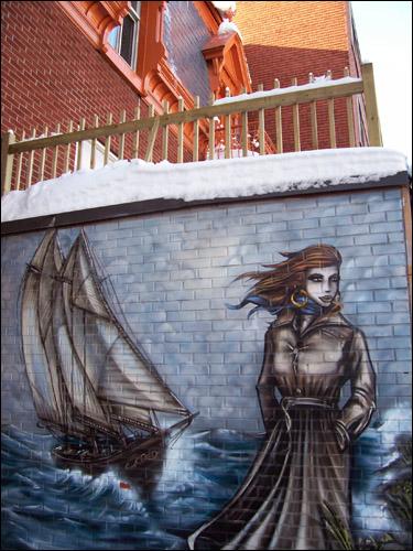 rue Saint-Denis artwork