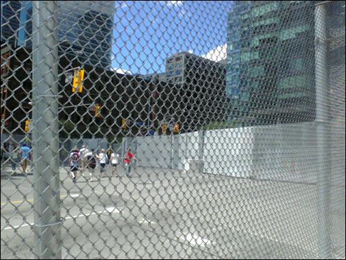 G20 fences, Toronto