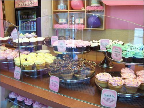 Cupcakes, English Bay