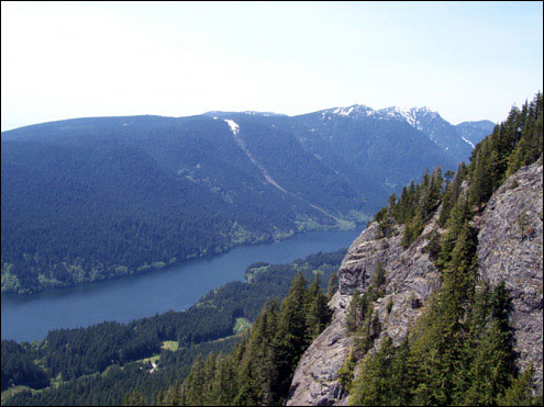 Ascending Grouse Mountain