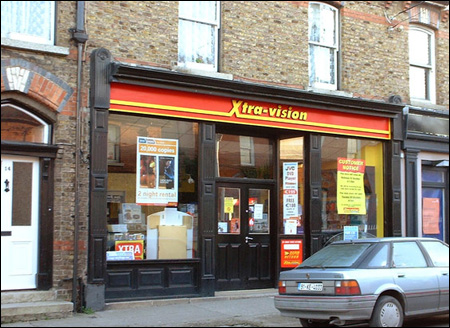 An old Xtra-Vision shop in Dublin